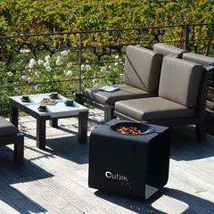 Brasero Design Cubik Noir