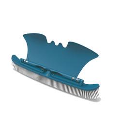 Brosse de parois et fond avec aile de placage - Blue Line