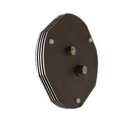Cellule compatible Poolmaid® 4 plaques circulaires - Sans corps de cellule, avec kit de montage