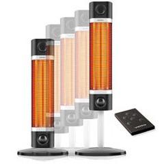 Chauffage à infrarouge pour extérieur Sigma noir