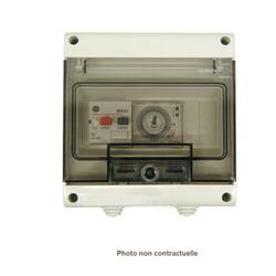 Coffret filtration ou surpresseur tri