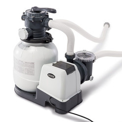Combi filtre à sable 8m³/h + stérilisateur au sel + OEC