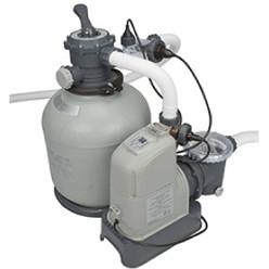 Combiné filtre à sable 6 m³/h et éco stérilisateur + OEC