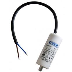 Condensateur à fils MKA 15 µf 450 V 40x70 - vis M8 + câble 250 mm long