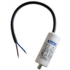 Condensateur à fils MKA 40 µf 450v 45x94 avec câble 250 mm long