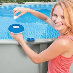 Diffuseur flottant Intex pour Spas et piscines jusqu'à 3.05 m