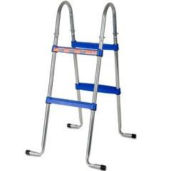 Echelle 2x2 marches pour piscine hors-sol Gré H90 cm
