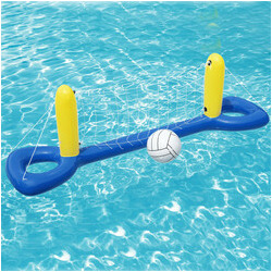 Filet flottant de volley-ball avec ballon