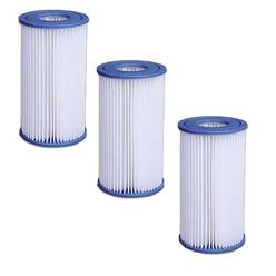 Lot de 3 Filtres pour pompe 3,8 et 6m3 jilong