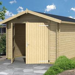 Garage en bois d'épicéa Mauritius