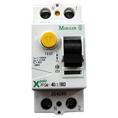 Interrupteur différentiel AC 30mA 40A bipolaire