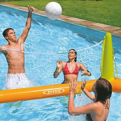 Jeu de volley de piscine