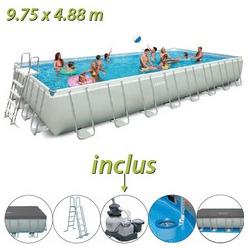 Https://www.piscine Center.net/piscine Hors Sol/piscines Hors Sol Intex/ Piscine Tubulaire Rectangulaire Ultra Silver Intex/index.html ...