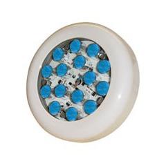Lampe piscine avec 15 Super LED Bleu de 1W