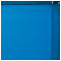 Liner bleu uni piscine hors sol ronde Ø 241 x 120 cm 40/100