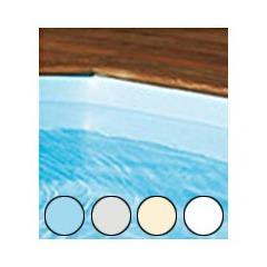 Liner pour piscine bois Cerland 540 x 3.30 x 120 cm bleu 75/100
