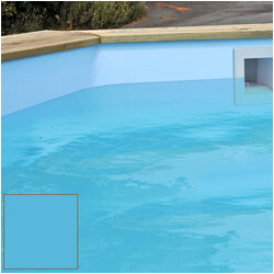 Liner pour piscine bois Cerland 615 x 4.05 x 133 cm bleu 75/100