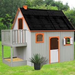 Maisonnette Duplex en bois
