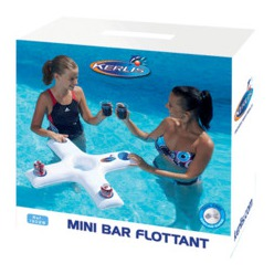Mini bar flottant - 4 boissons