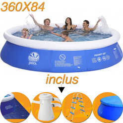 Cat gorie piscine gonflable du guide et comparateur d 39 achat for Accessoire piscine jilong