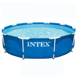 Piscine intex metal frame ronde pas ch re piscine for Piscine intex 4 57 x 1 22