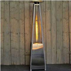 Pyramide chauffante à gaz Sun Flamme Achat/Vente