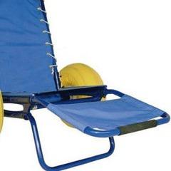 Repose-pieds amovible avec toile pour fauteuil JOB Classic et Pro