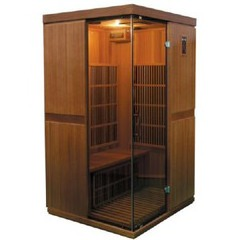 Sauna Infrarouge Cèdre rouge 2 places