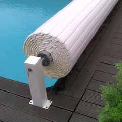 Volet piscine automatique avec fins de course O'cover