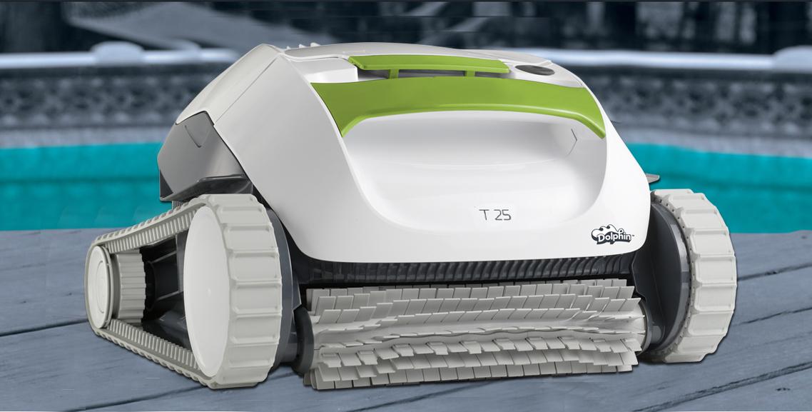 Robot de piscine Maytronics Dolphin T25 - Achat / Vente robot de nettoyage Robot de piscine ...