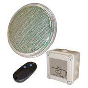 1 lampe led piscine couleur par 56 rvb 20 w télécommande