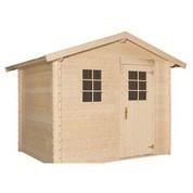 Abri de jardin en bois brut - Leman 142 - 4,51 m² - 19 mm