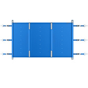 Bâche à barres pool barres plus ppp compact 9400