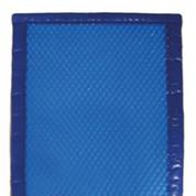 Bâche à bulles 400µ bordée 4 côtés bleu 9 x 4
