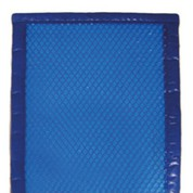 Bâche à bulles 500µ bordée 4 côtés bleu 9 x 4