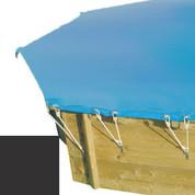 Bache hiver carbone pour piscine bois original 428 x 428 - 790210
