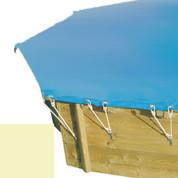 Bache hiver sable pour piscine bois original 428 x 428 - 790210
