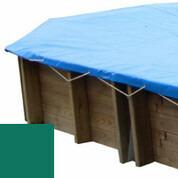 Bâche hiver vert pour piscine bois original 755 x 456 - 779808
