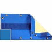Bâche opaque piscine Cerland Octo 4.60 x 3.10 m Bleu