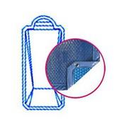 Bâche Quatro Bleu Solaire Modèle Corfou piscines PID