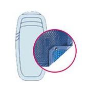 Bâche Quatro Bleu Solaire Modèle Fluorite Alliance piscines