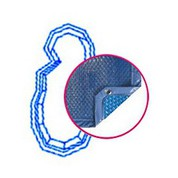 Bâche Quatro Bleu Solaire Modèle Ikaria piscines PID