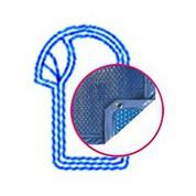 Bâche Quatro Bleu Solaire Modèle Ios piscines PID