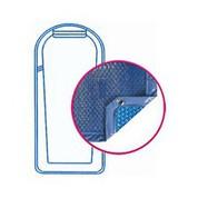 Bâche Quatro Bleu Solaire Modèle MDP 1025 piscines Mon de Pra