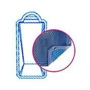 Bâche Quatro Bleu Solaire Modèle Rhodes piscines PID
