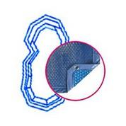 Bâche Quatro Bleu Solaire Modèle Sikinos piscines PID