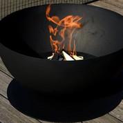 Brasero Eclip's Noir modulable