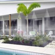 brumisateur ext rieur et ventilateur jardin. Black Bedroom Furniture Sets. Home Design Ideas