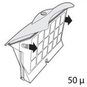 Cassette de filtration pour robot D2/D8 Top Access grise 50 microns unitaire