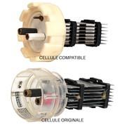 Cellule compatible 68961 pour Ecomatic® ESR 200 culot à vis - 7 plaques 140 x 55